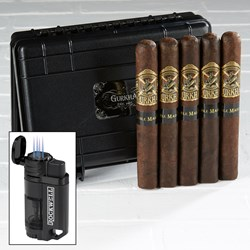 Gurkha Doble Maduro Travel Humidor Combo