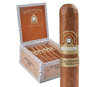 Nat Sherman Metropolitan Selection Habano