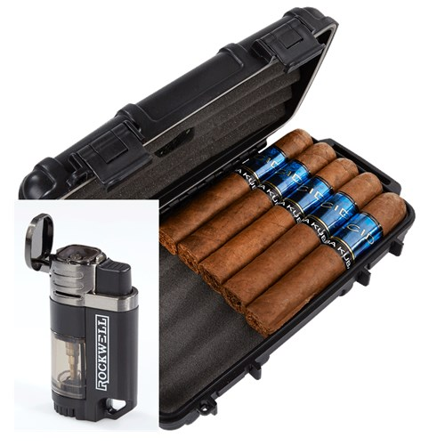 ACID Kuba Kuba 5-Cigar Humidor Combo