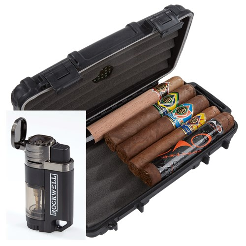 CAO 5-Cigar Sampler Humidor Combo