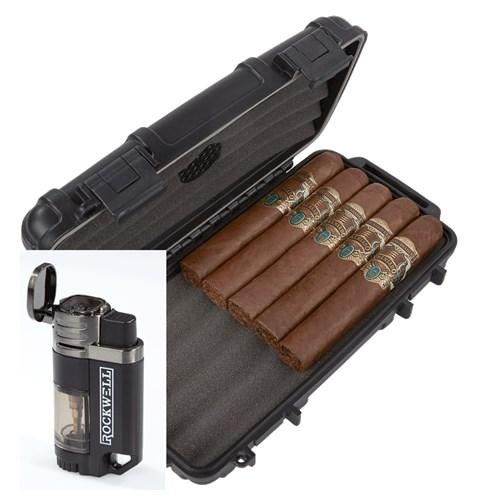 Alec Bradley Prensado 5-Cigar Humidor Combo