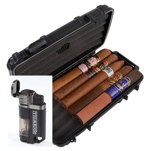 Southern Draw 5-Cigar Sampler Humidor