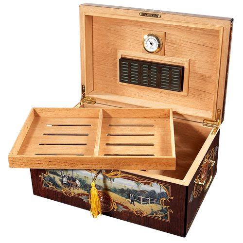 5 Vegas Tradicion Humidor - 100 Cigar Capacity