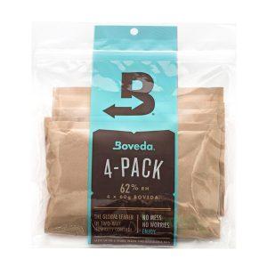 Boveda 60-Gram Humidification Packets - 62% Pack of 4