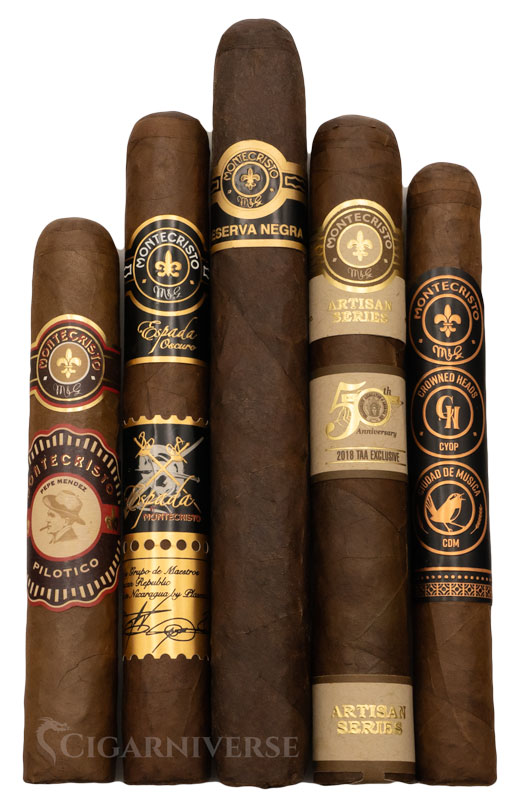 "Rich text results for google image search ""montecristo sampler"""